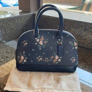Coach rose bouquet mini Sierra satchel and wristlet wallet